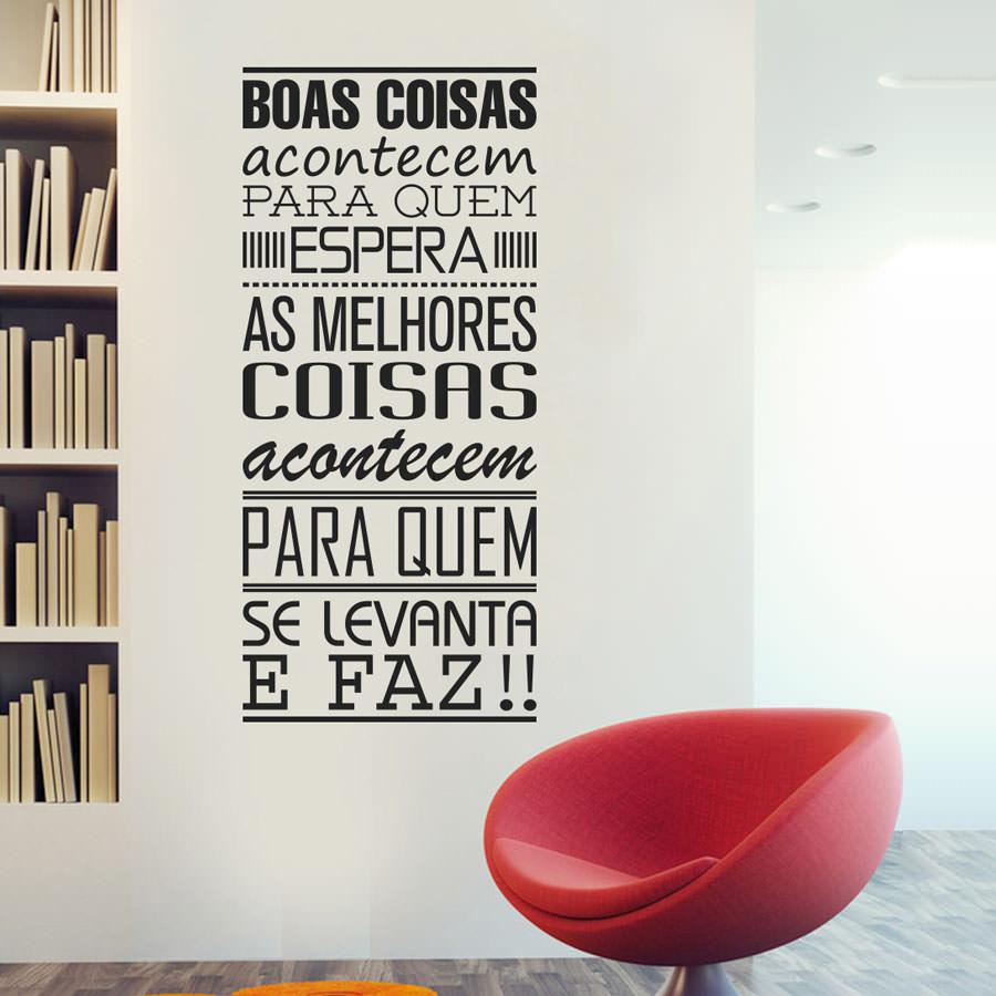 adesivos de parede frases para quarto