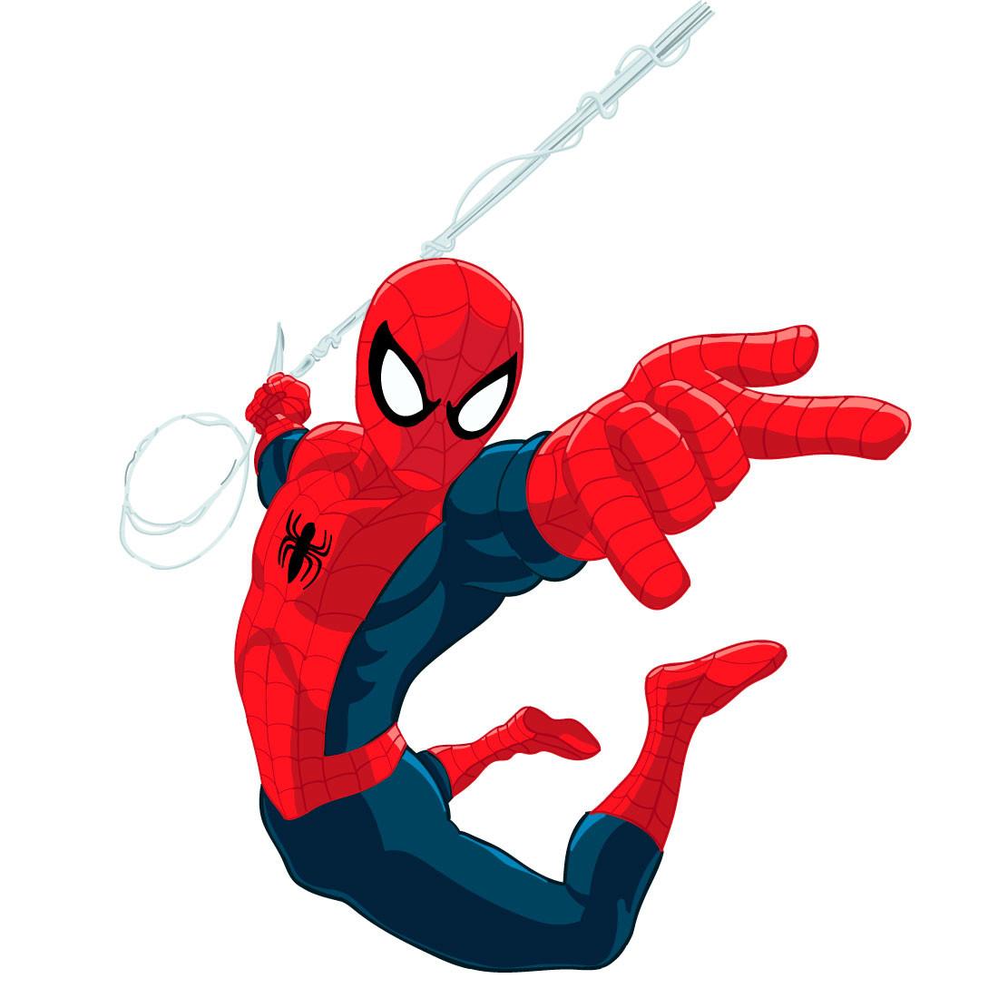 Adesivo de Parede Infantil do Homem Aranha
