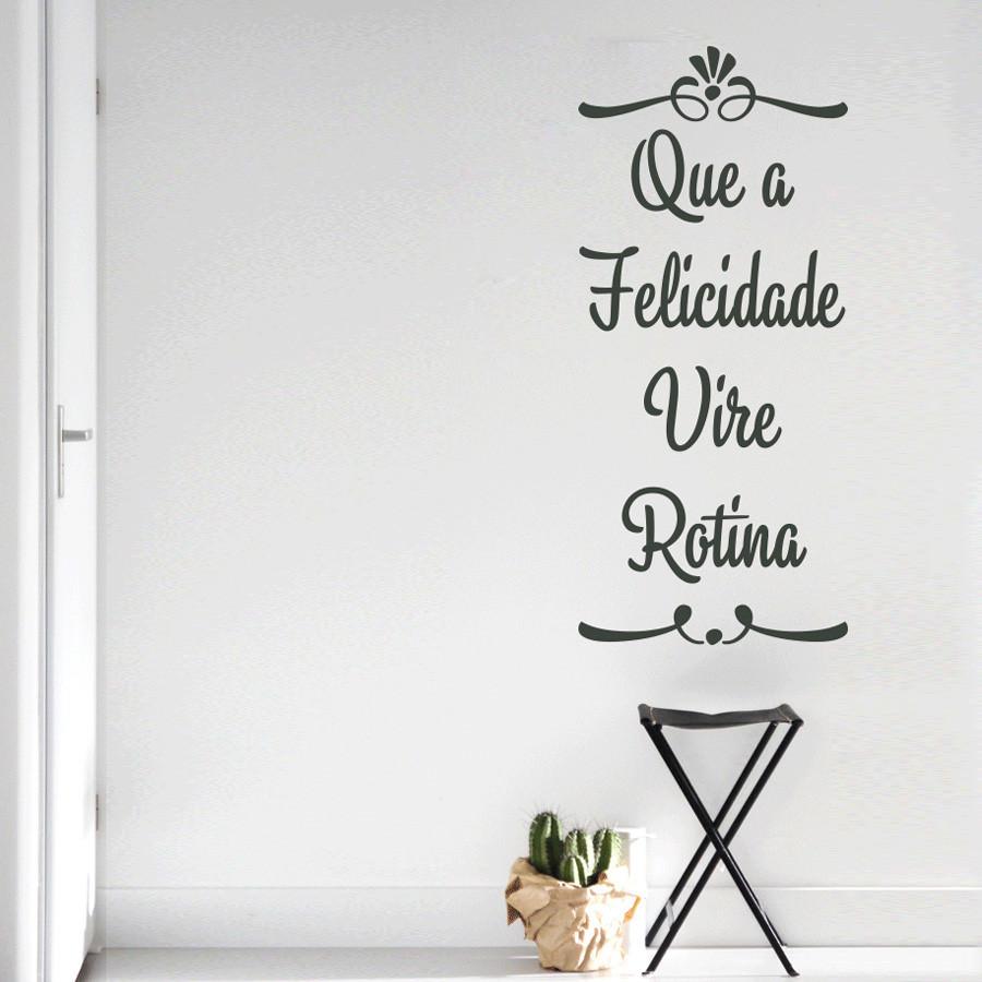 adesivos de parede frases de decoração