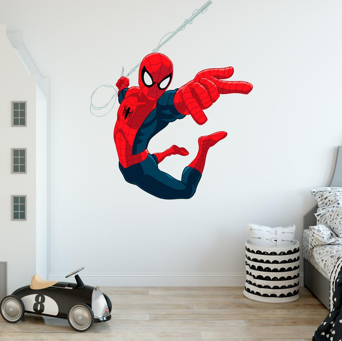 Adesivo de Parede filme do Homem Aranha
