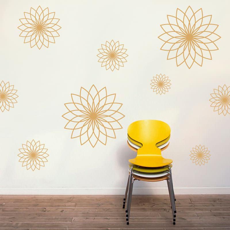 Adesivo Decorativo Mandalas Abstratas