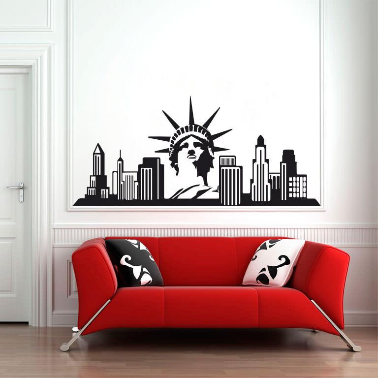 Adesivo de Parede Nova Iorque