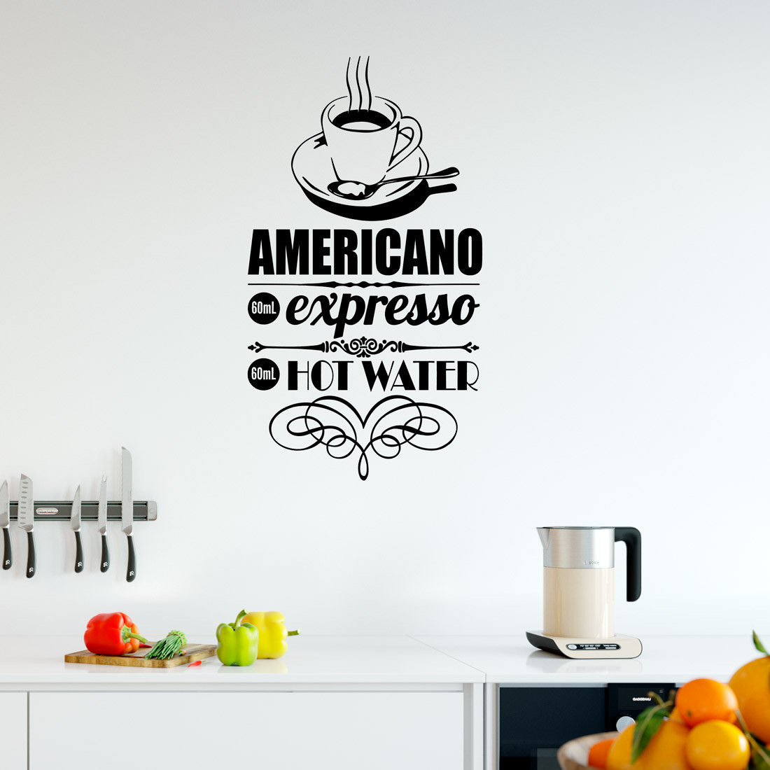 Adesivo de Parede Café Expresso