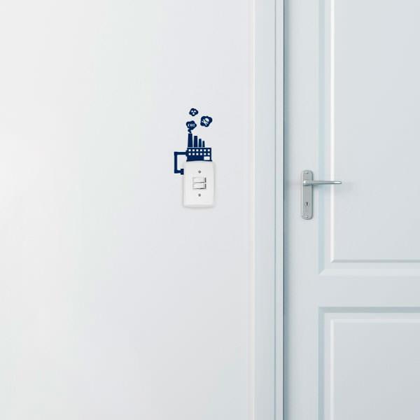 Adesivo Decorativo para Interruptor Fábrica