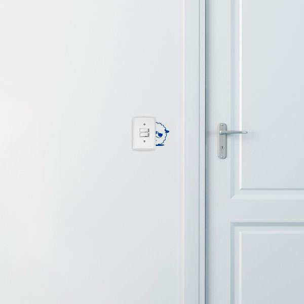 Adesivo Decorativo para Interruptor Ovelha