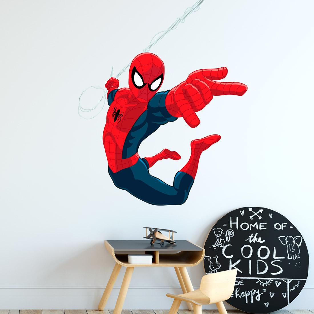 Adesivo de Parede Desenho do Homem Aranha