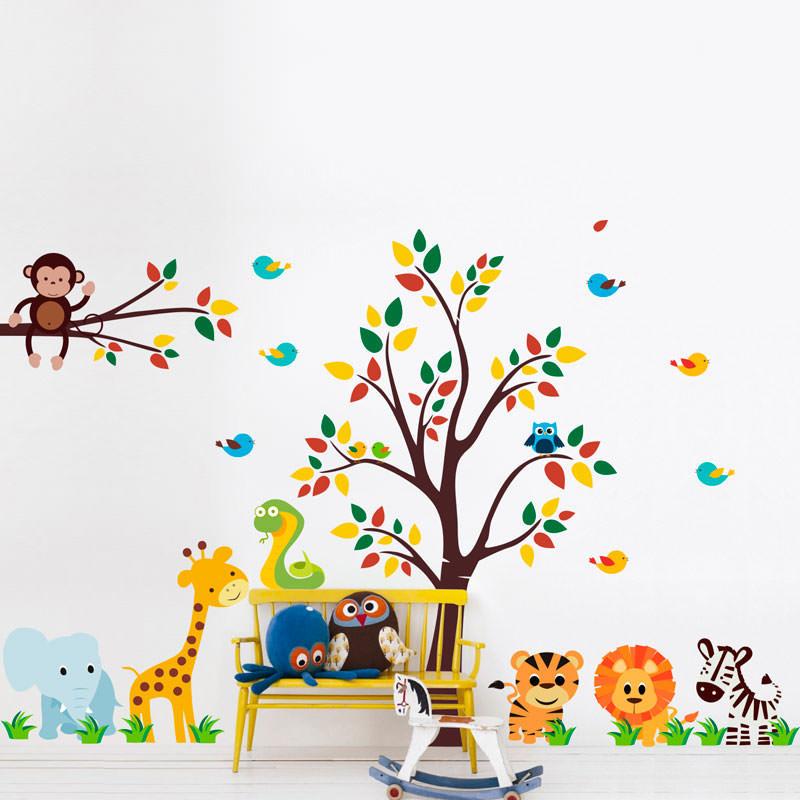 Adesivos de parede infantil para quarto cozinha for Papel pared barato