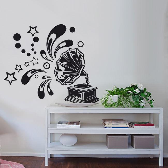 Adesivo Decorativo Vitrola