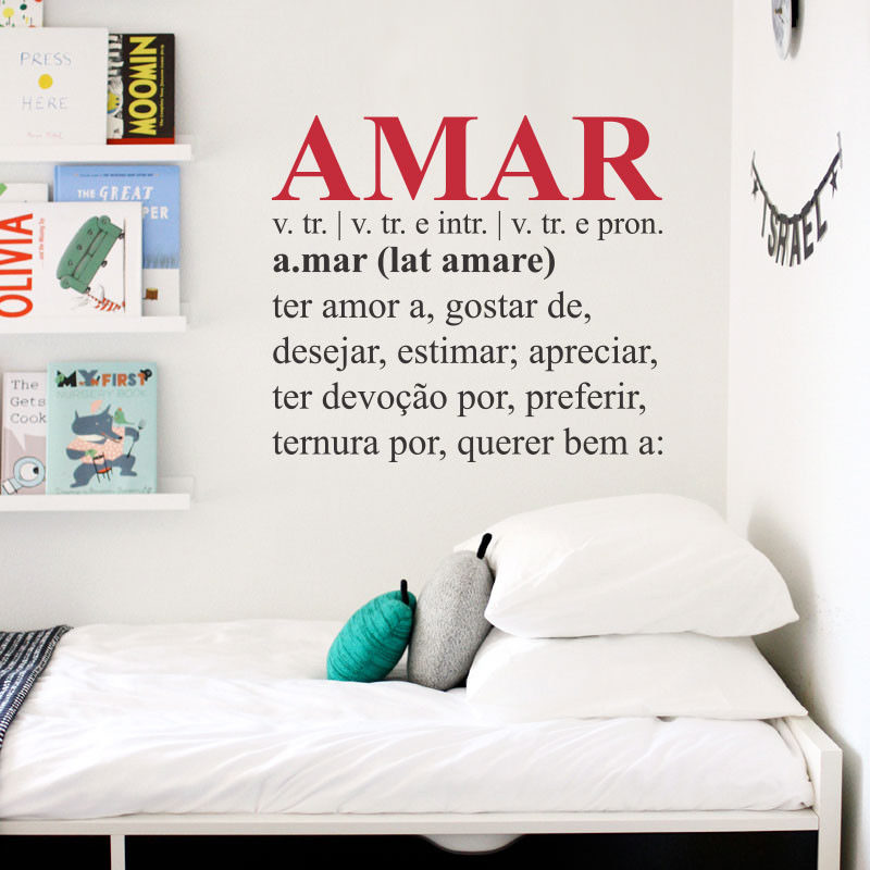 Adesivo Decorativo Amar