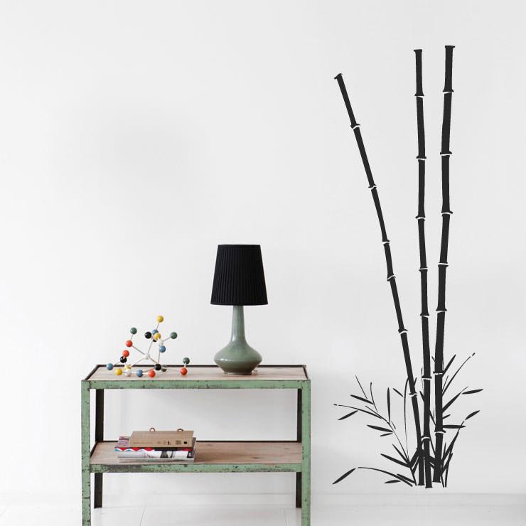 Adesivo de Parede Bambu Imperial