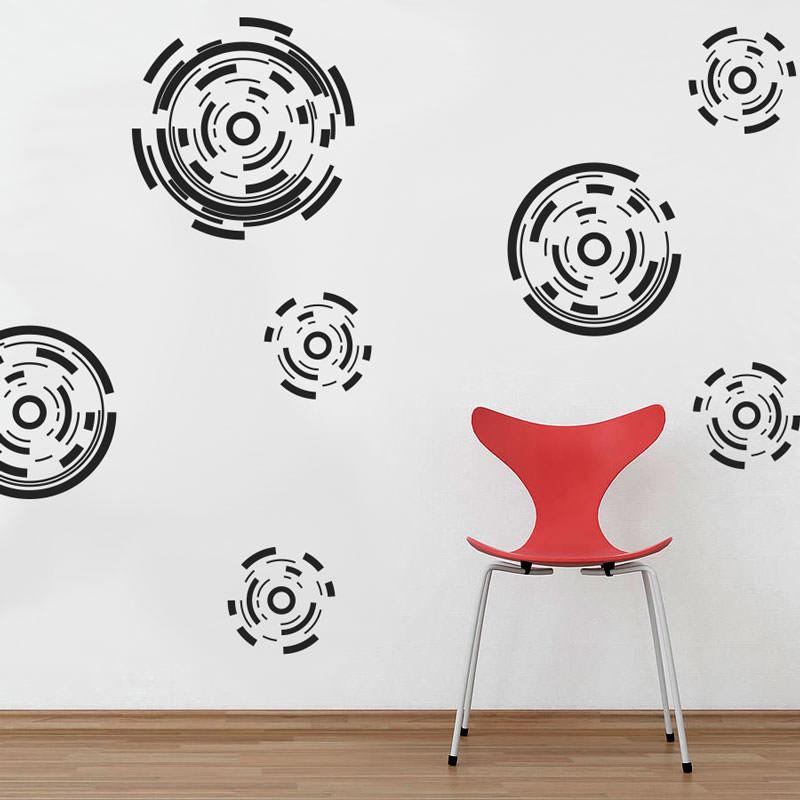 Adesivos Decorativos Bolas High Tech