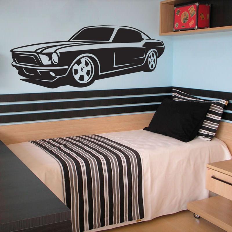 Adesivo de Parede Mustang