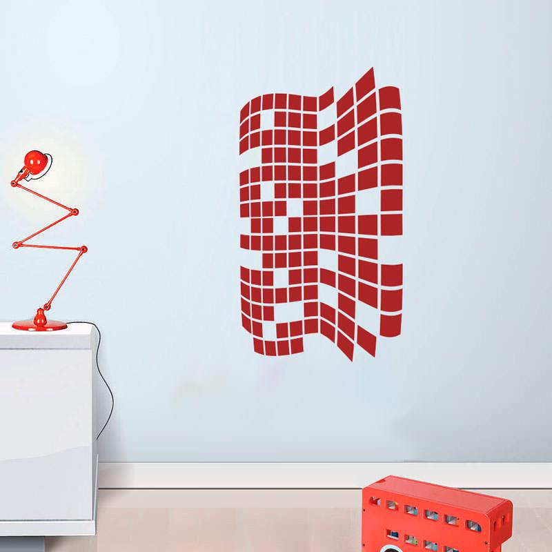 Adesivo Decorativo Ondas Em 3D