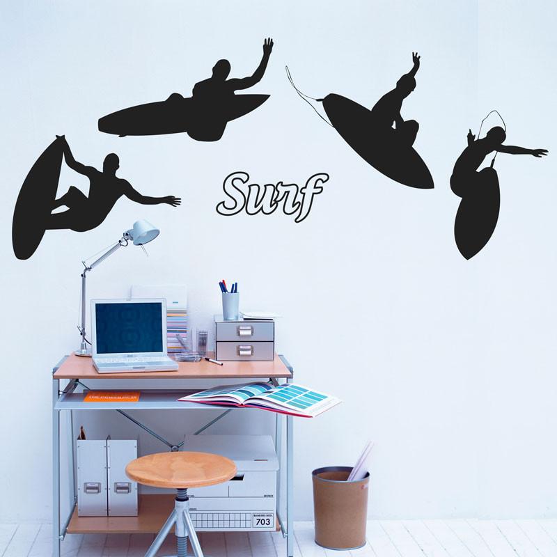 Adesivo de Parede Surf