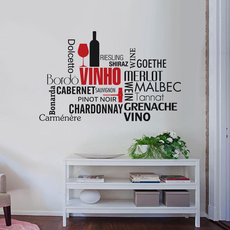 Adesivo Decorativo Vinho