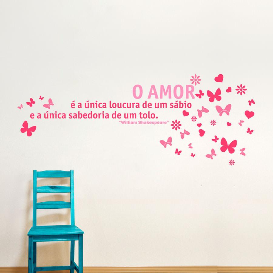 Adesivo Decorativo Amor