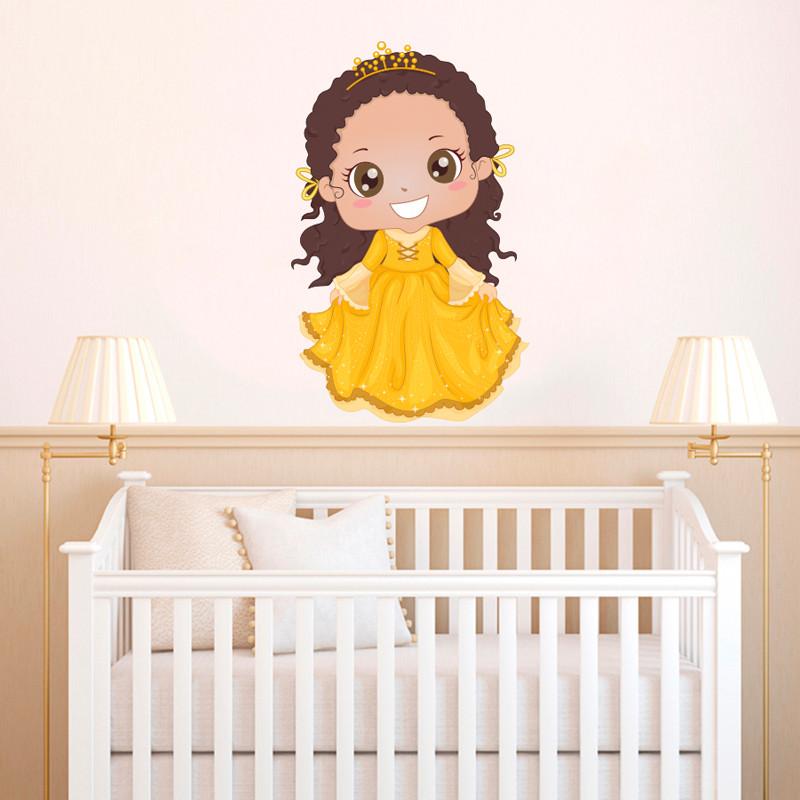 Adesivo de Parede Princesa Jolie