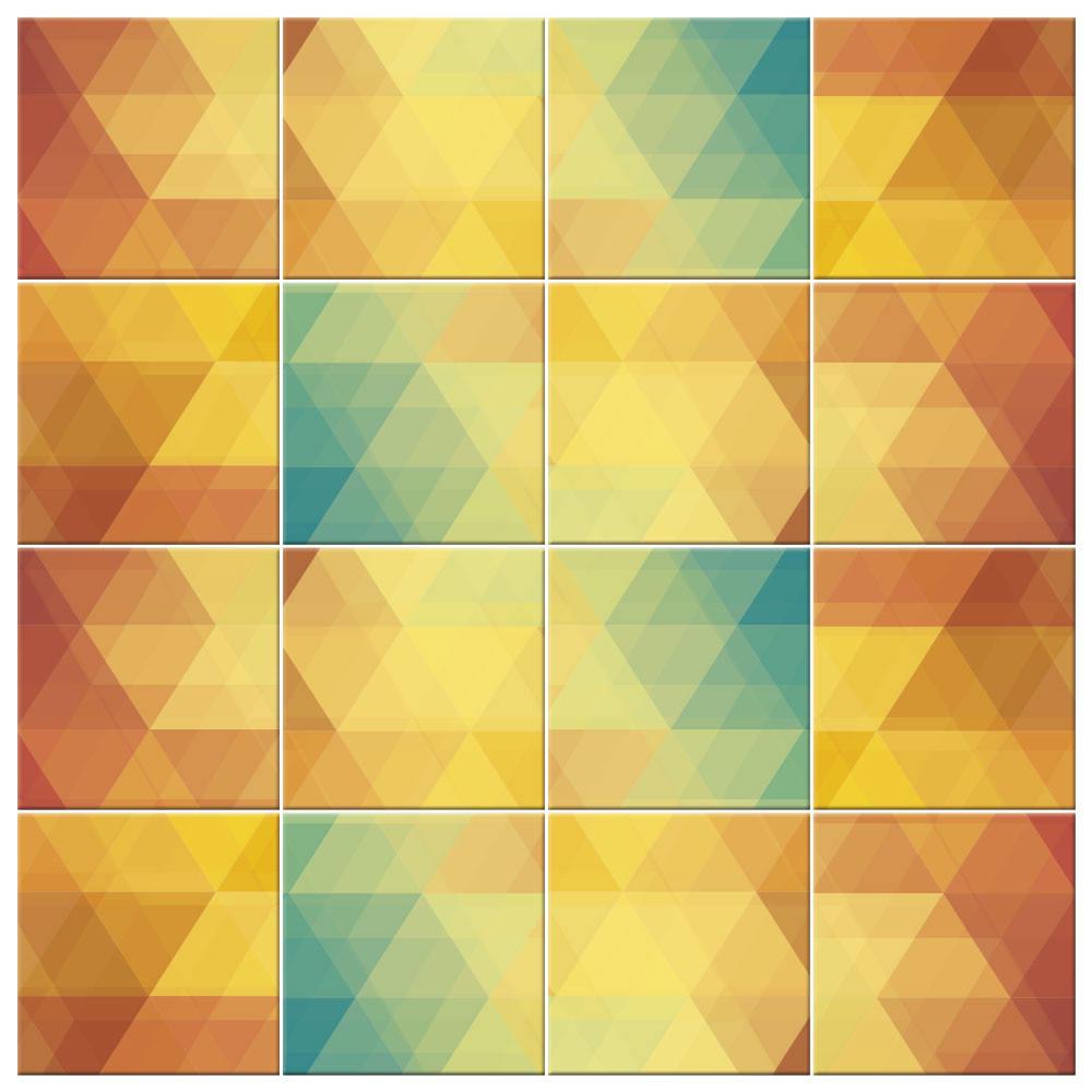 Adesivo Para Azulejo - 21