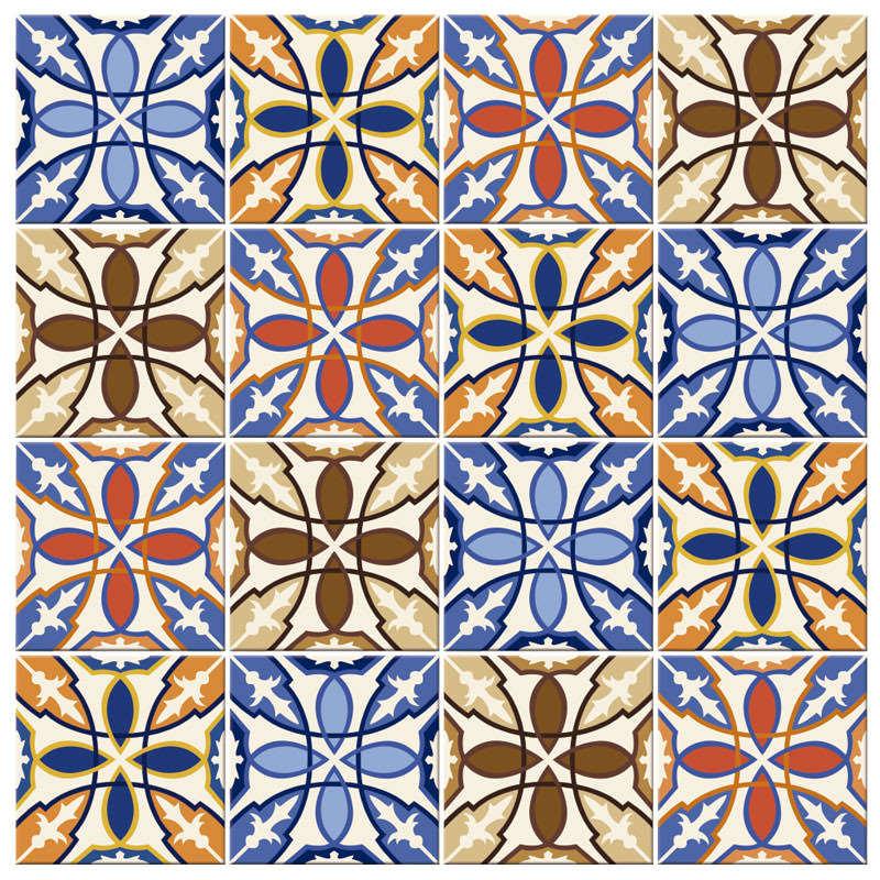 Adesivo Para Azulejo - 13