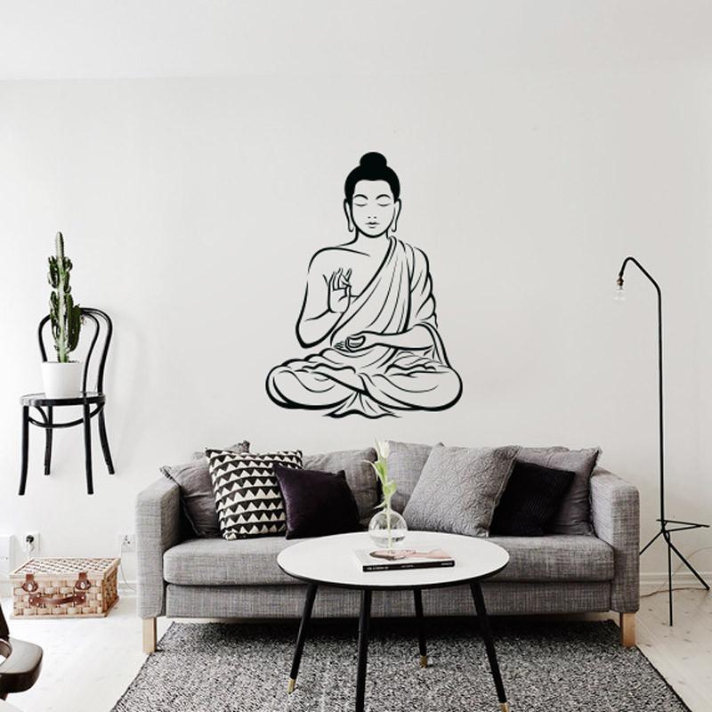Adesivo Decorativo de Parede Buda