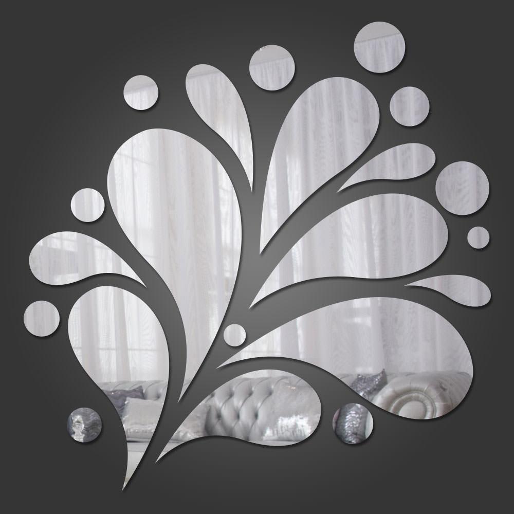Espelho Decorativo Abstração