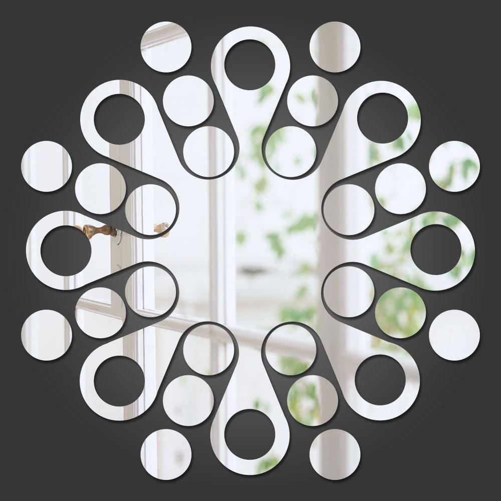 Espelho Decorativo Abstrato Mandala
