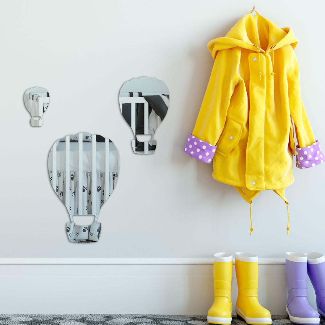 Espelho Decorativo Infantil Balões