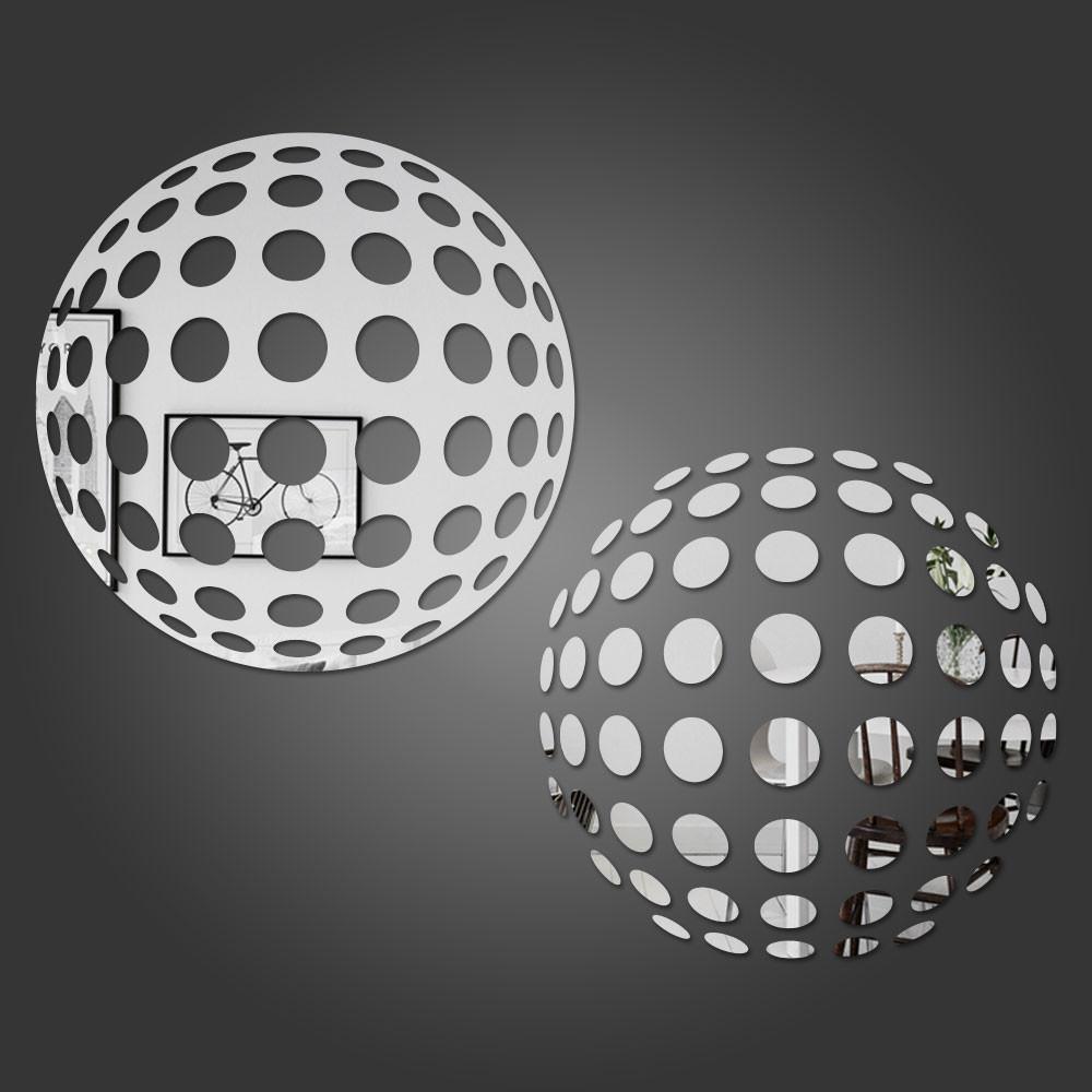Espelho Decorativo Círculo 3D