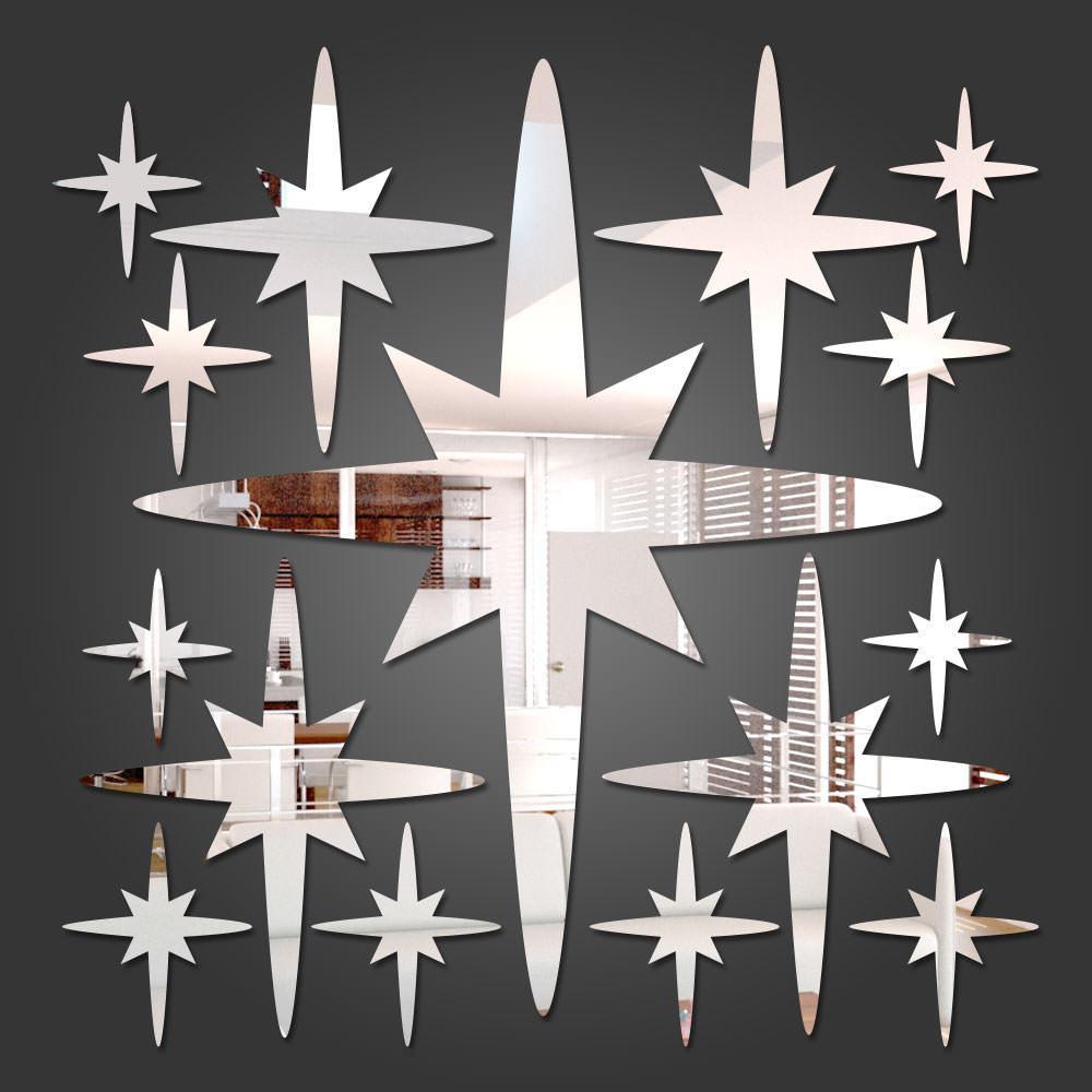 Espelho Decorativo Estrela de 6 Pontas