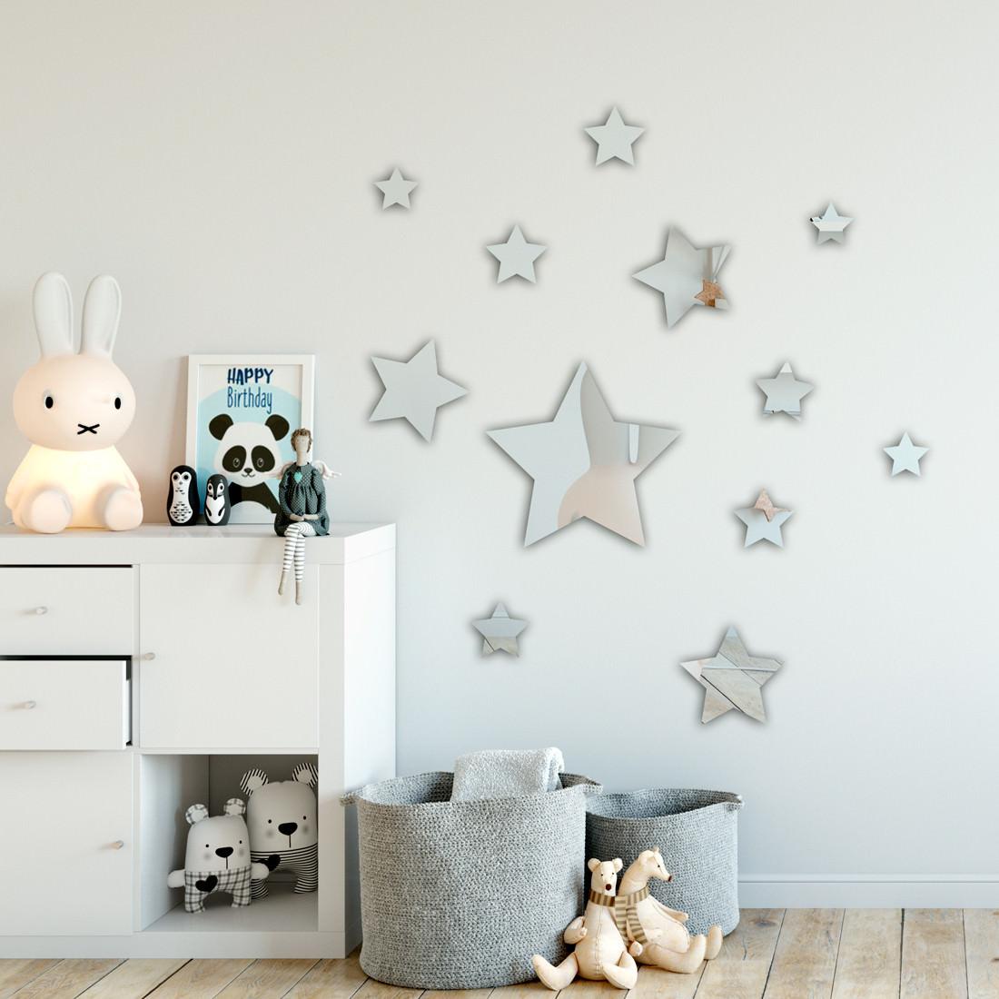 Espelho Decorativo Estrelas