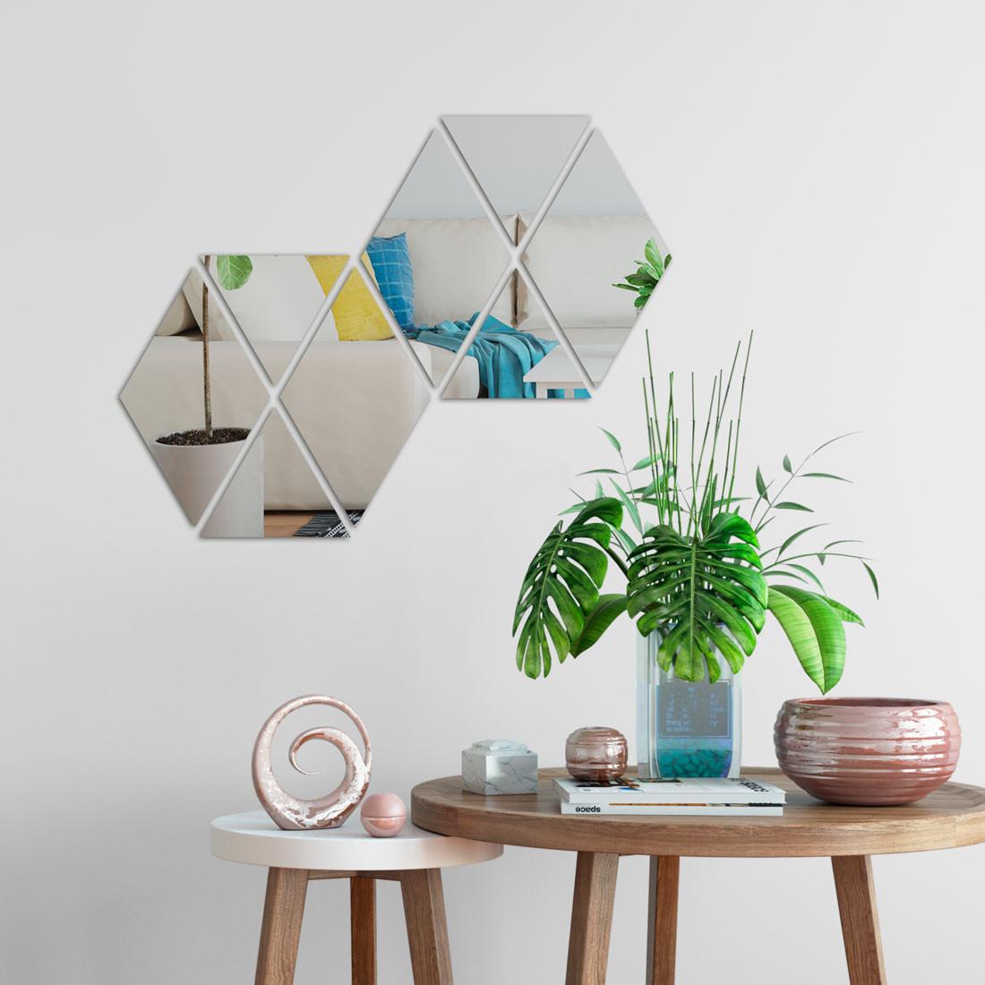 Espelho Decorativo Losangos