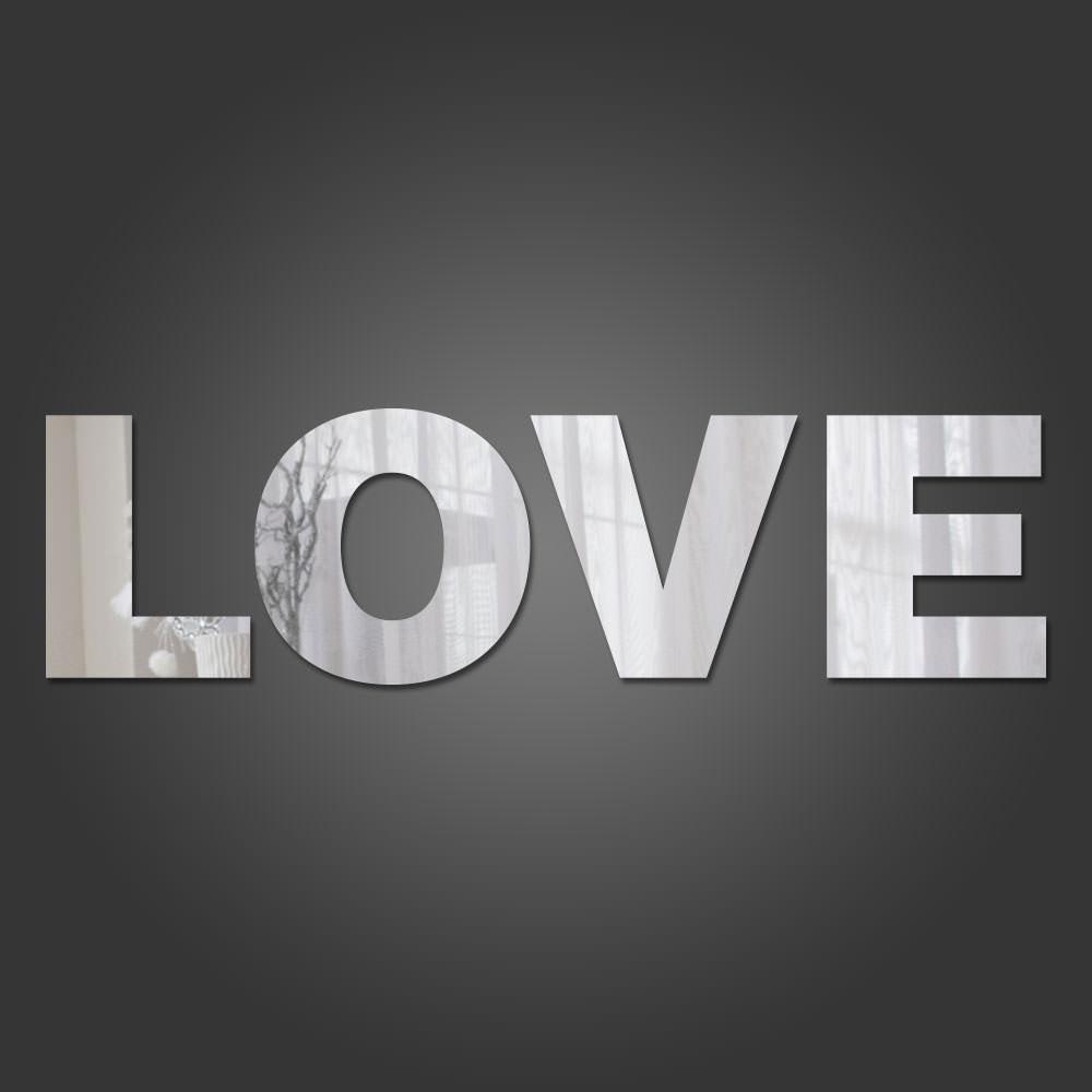 Espelho Decorativo Love II