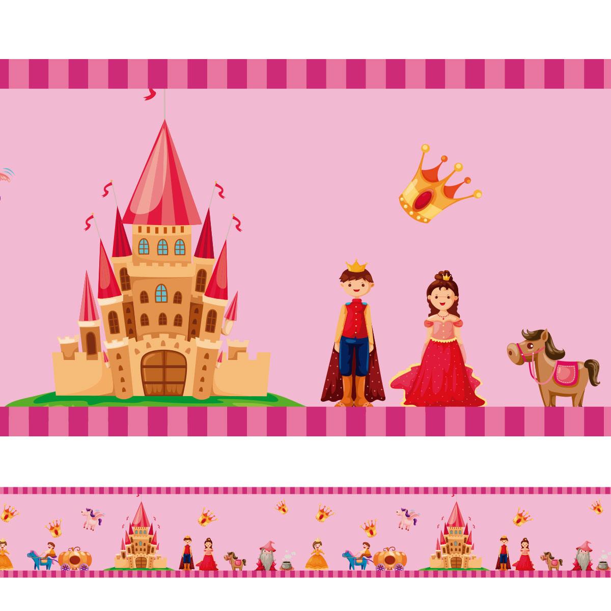 Faixa Decorativa Princesa