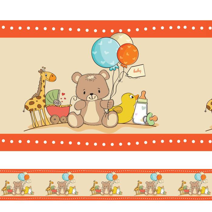 Faixa Decorativa Bebê Urso