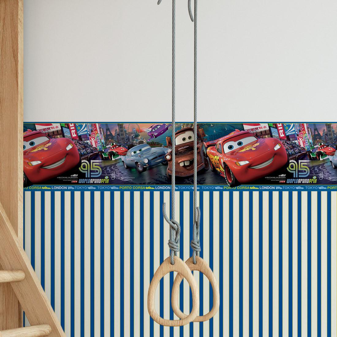 Faixa Decorativa Infantil Carros - Disney - Rolo com 5 Metros
