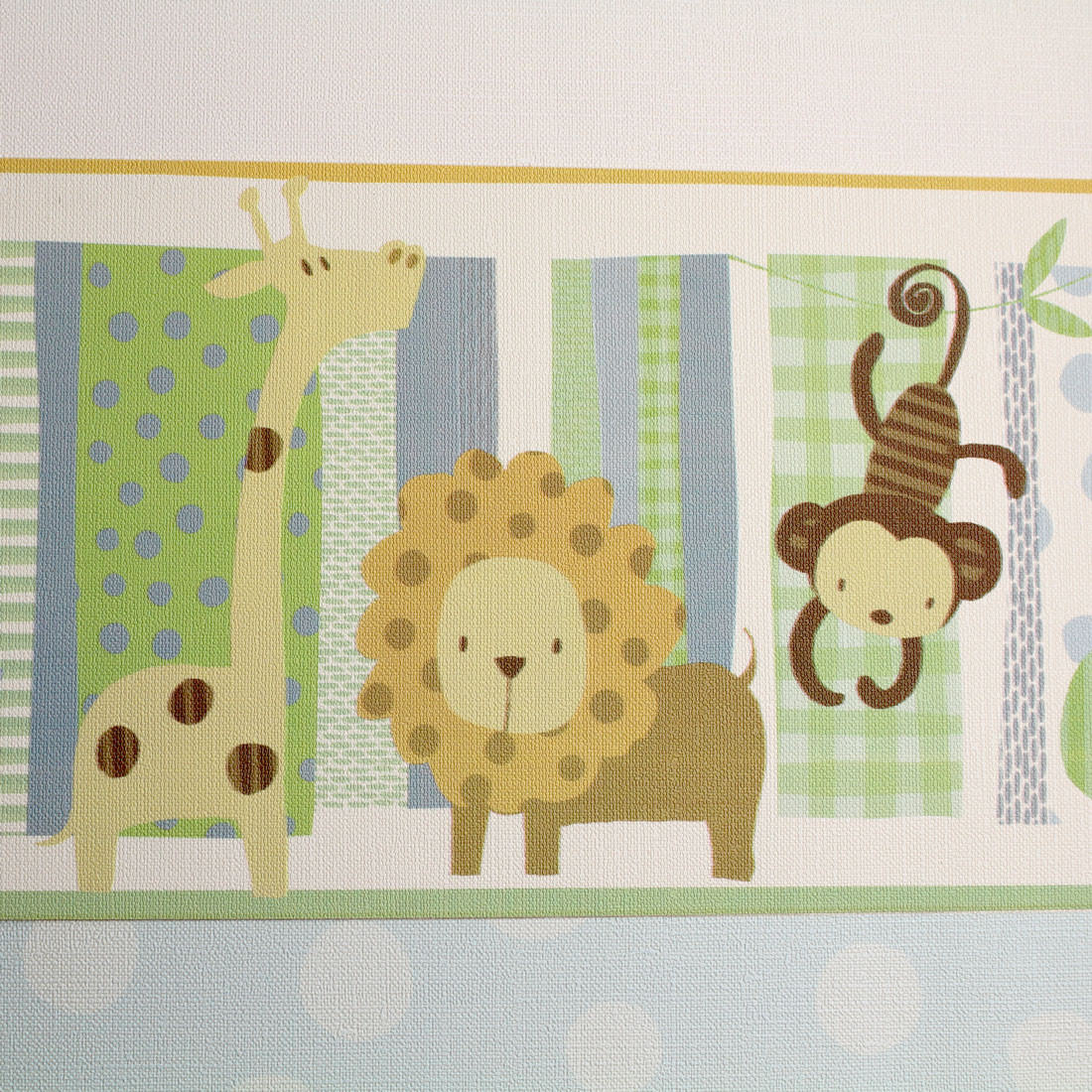 Faixa Decorativa Infantil Safári Savana - Nido