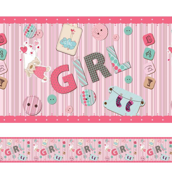 Faixa Decorativa Girl