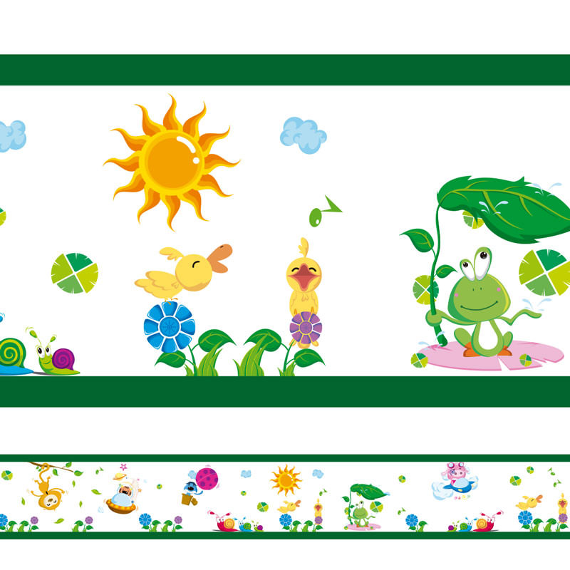 Faixa Decorativa Natureza