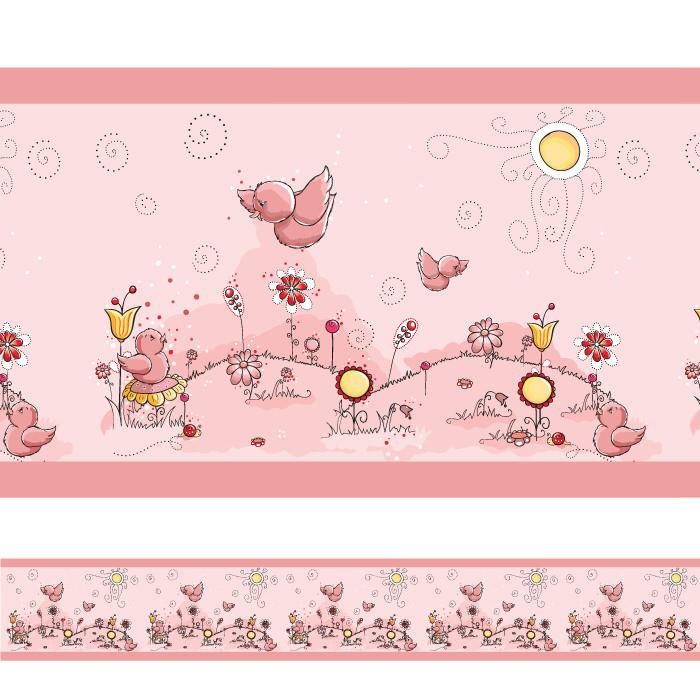 Faixa Decorativa Pássaros