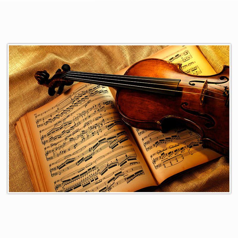 Painel Decorativo Violino
