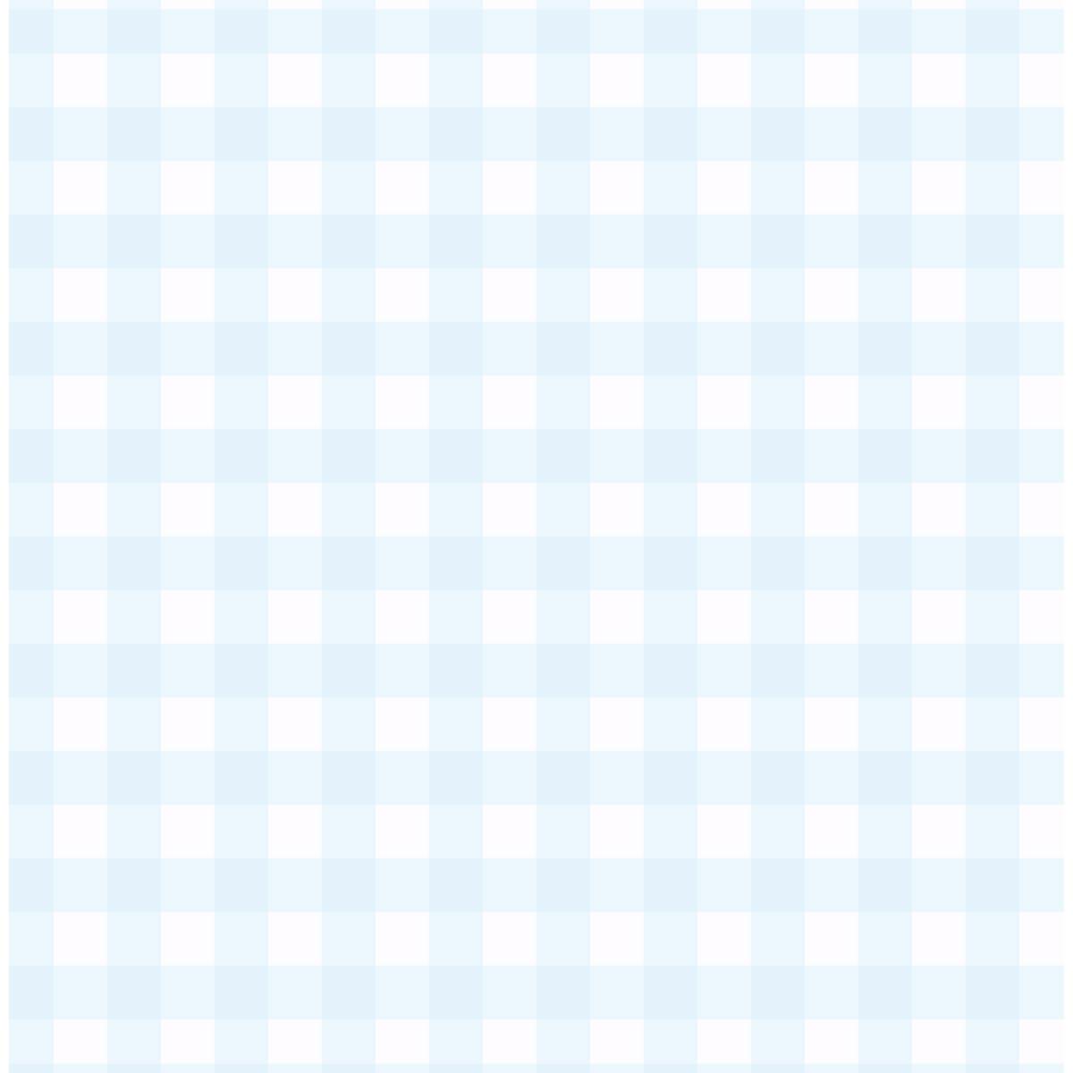 Papel de Parede Xadrez (Azul Bebê)