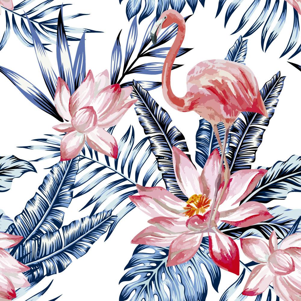Papel de Parede Flamingo