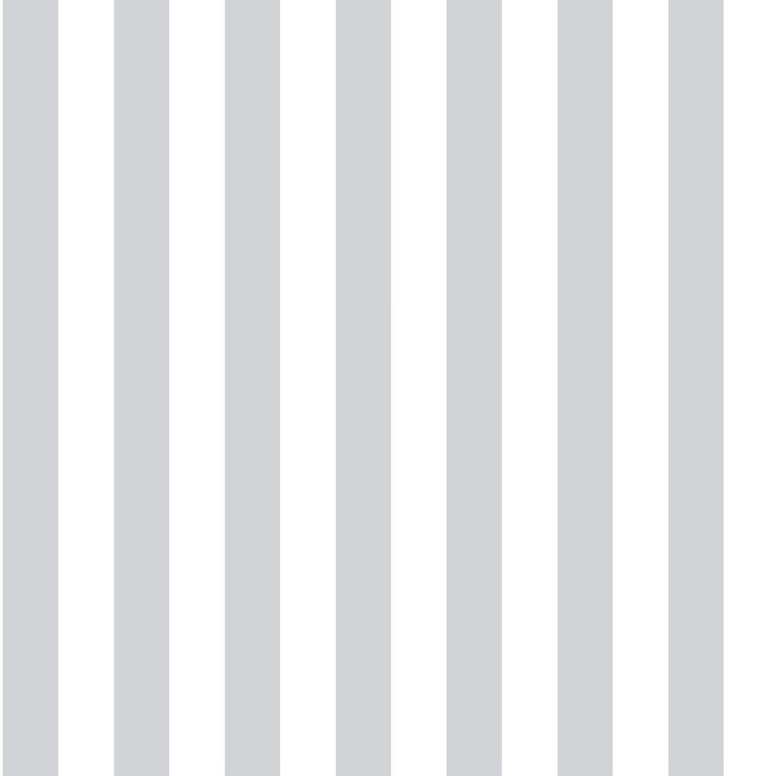 Papel De Parede Listras Verticais Estreitas Cinza e Branco