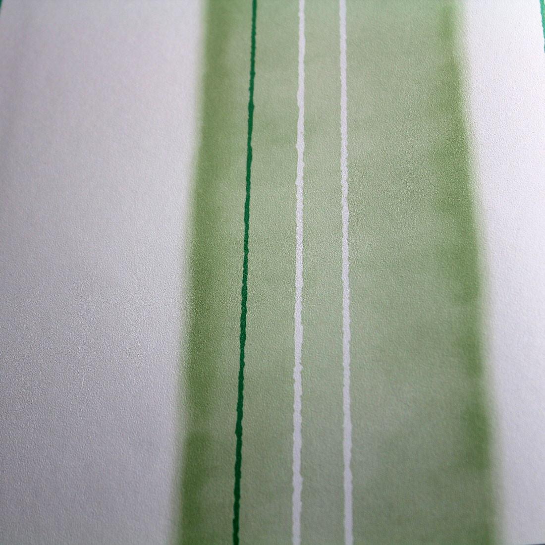 Papel de Parede Muresco Allegra Listras Assimétricas Verde