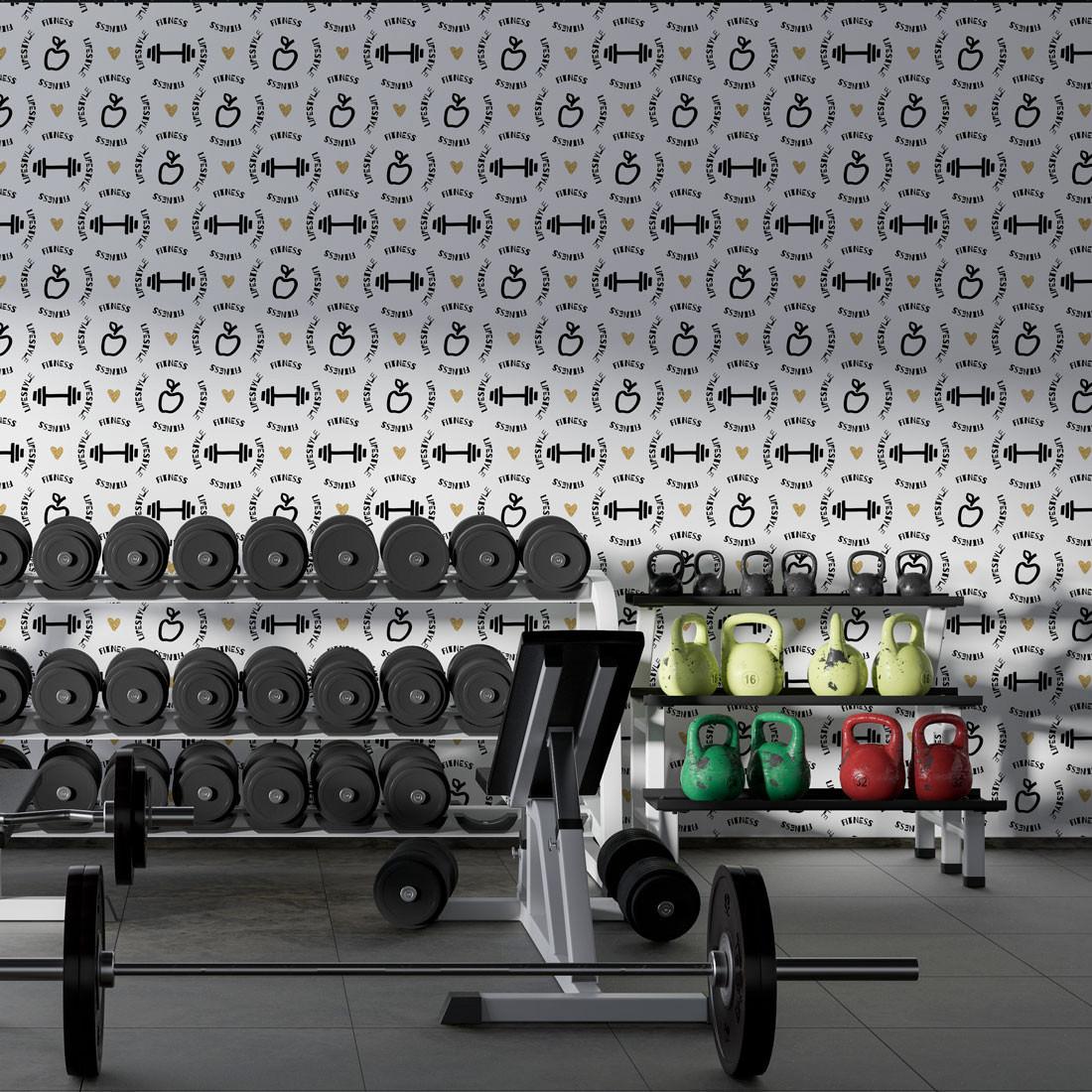 Papel de Parede Fitness Lifestyle