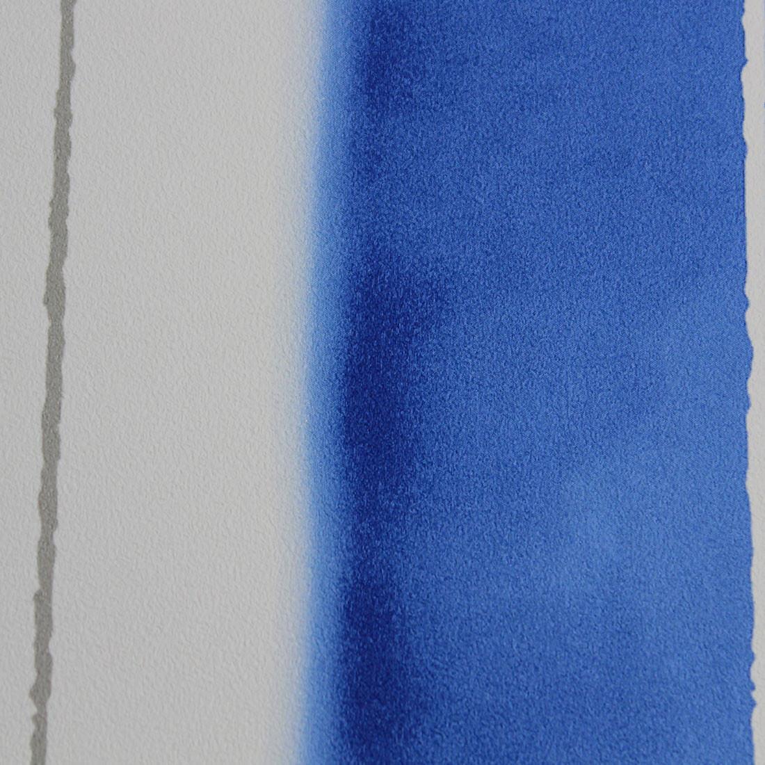 Papel de Parede Listras Assimétricas Azul