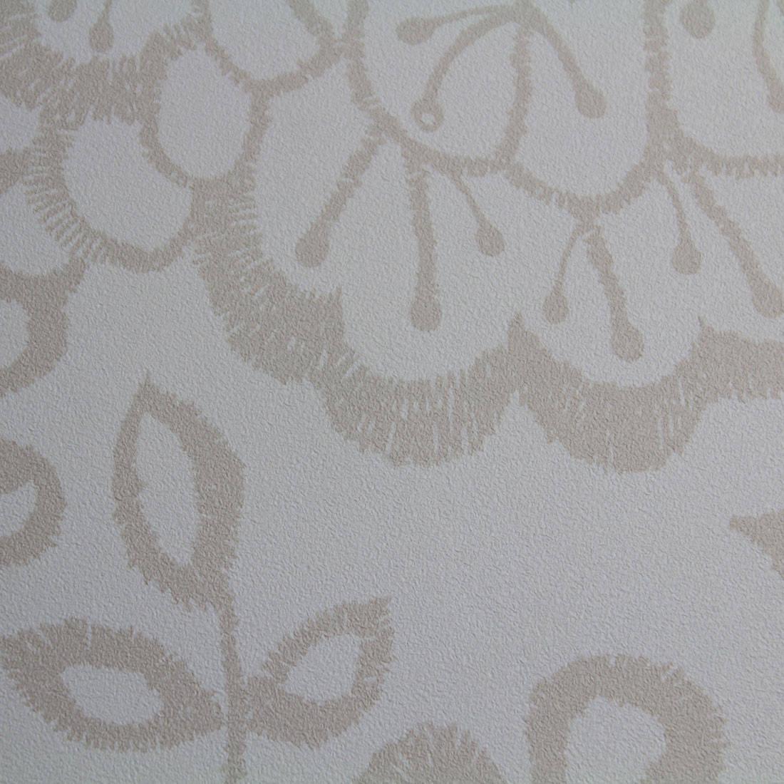 Papel de Parede Muresco Allegra Vinilico Floral Bordado Textura