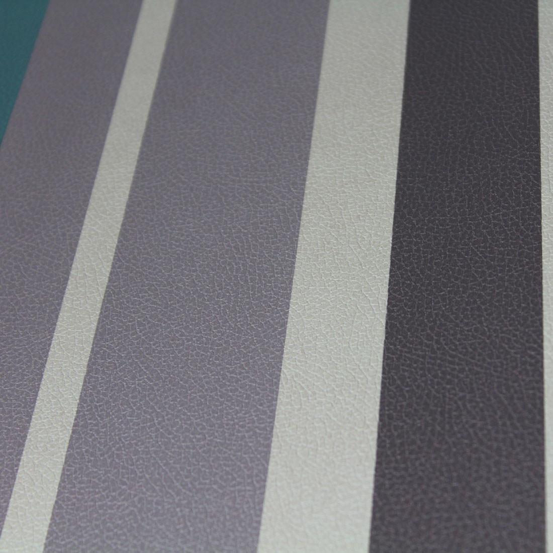 Papel de Parede Muresco Corium Listras Bege Marrom Cinza e Verde Texturizado