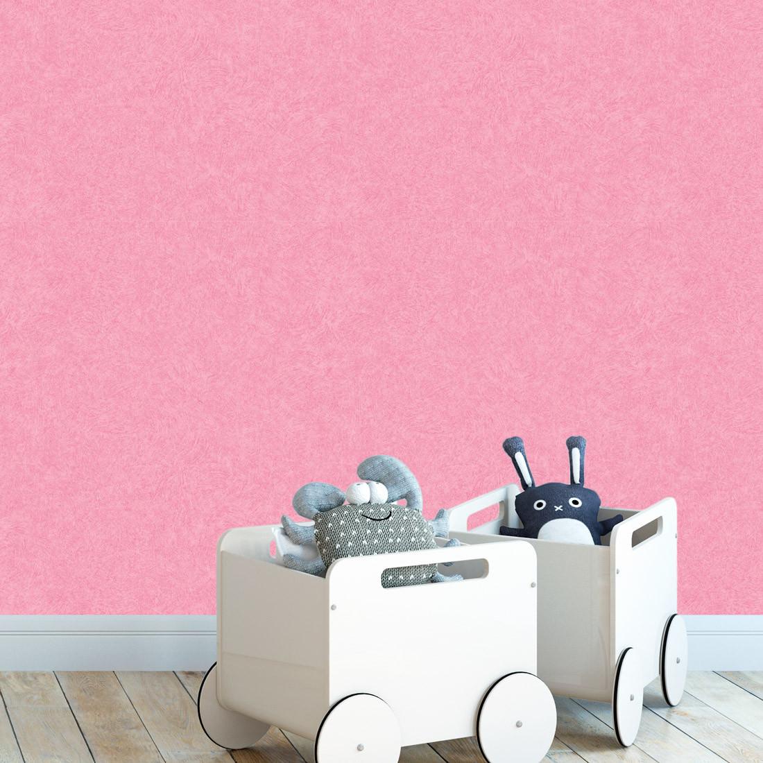 Papel de Parede Infantil Pink - Nido - Rolo com 10 Metros