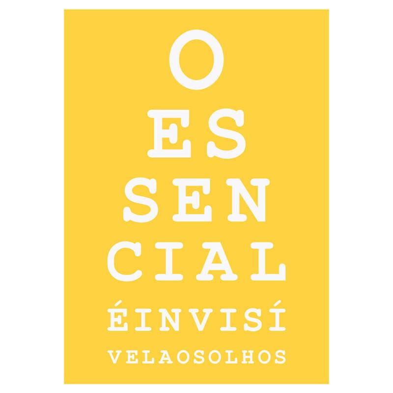 Poster Decorativo O Essencial